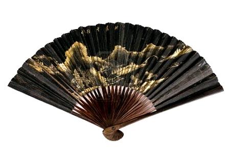 13186307-old-chinese-fan-xix-century
